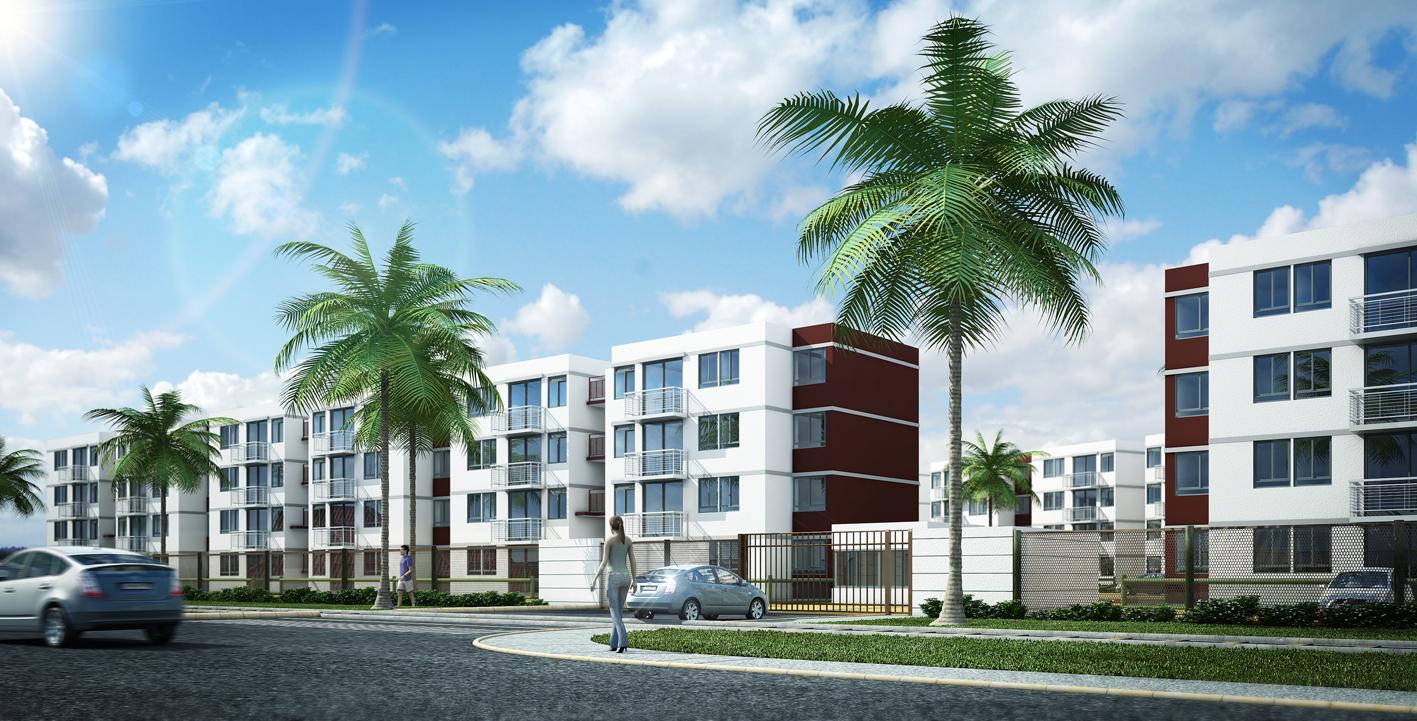 Imagem para artigo sobre licença de habitação, prédios de condomínio