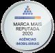Marca mais reputada 2020 agências imobiliárias, marktest reputation index
